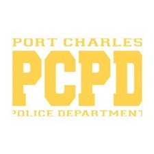 PCPD yellow 35x21 Wall Decal