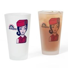 Stewardess09_12x12W Drinking Glass