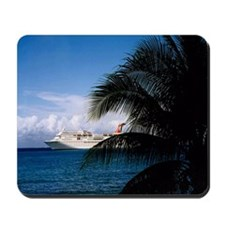 Carnival docked at Grand Cayman11x11 Mousepad