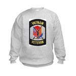 Vietnam Veteran Kids Sweatshirt