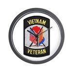 Vietnam Veteran Wall Clock