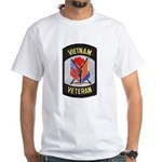 Vietnam Veteran White T-Shirt