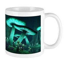 Luminous Mushrooms Mug