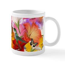 Hibiscus Butterflies Small Mug