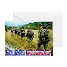 vietnam-soldiers-4 Greeting Card