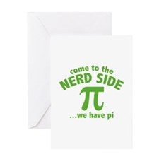 Come To The Nerd Side Greeting Card