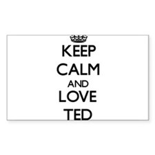 Keep Calm and Love Ted Decal