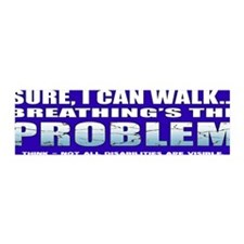 BreathingProblemBumper Wall Decal