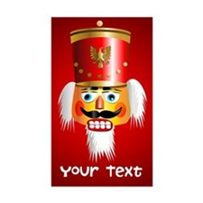 Personalized Nutcracker Head Decal