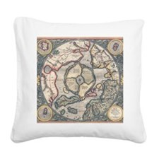 Arctic1595-full Square Canvas Pillow