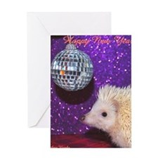Casper Large New Year Greeting Card