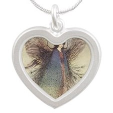 goble_moonmaidentile Silver Heart Necklace