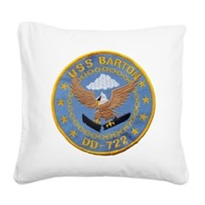barton patch Square Canvas Pillow