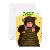 """Bee Happy!"" from Kuddle Klub Greeting Cards (Pack"