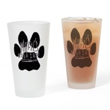 paw02 Drinking Glass