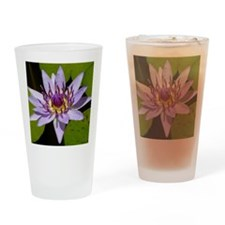Water Lily copy Drinking Glass