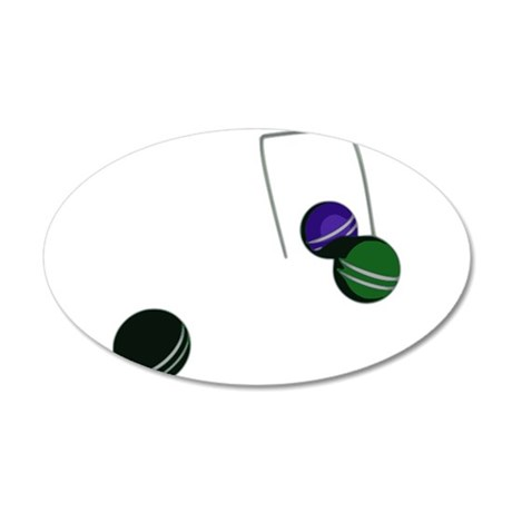 Croquet Game Wall Decal
