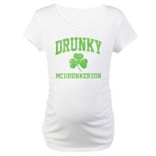 Drunky -green Shirt