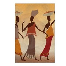 African Women Postcards (Package of 8)