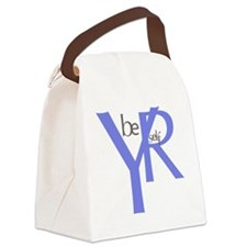 be yourself 31 Canvas Lunch Bag