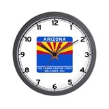 Welcome to Arizona - USA Wall Clock