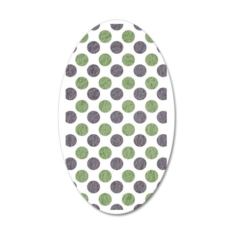 64 35x21 Oval Wall Decal