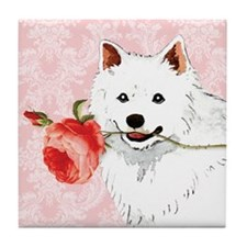 Eskimo Rose Tile Coaster