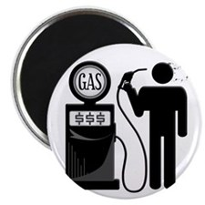 High Gas Prices Suicide Pump Magnet