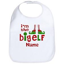 Big Elf Christmas Personalized Bib