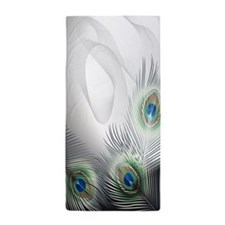 Peacock Feather Fantasy Beach Towel