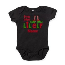 Little Elf Christmas Baby Bodysuit