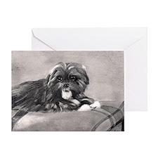 PeekAPoo Dog Greeting Cards