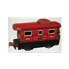 caboose Rectangle Magnet