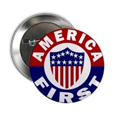 "SeekerArt - America First 2.25"" Button (10 pack)"