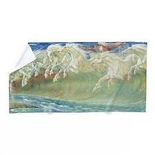 CRANE_NEPTUNE_FULL SIZEx Beach Towel