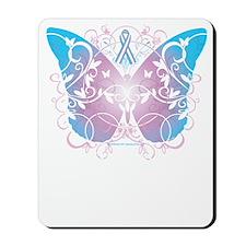 Transgender-Butterfly-A-blk Mousepad