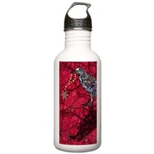 snowflakeRaveniPhone Water Bottle