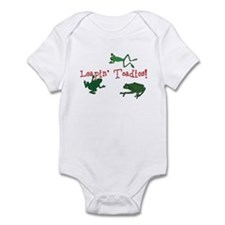 Leapin' Toadies! Infant Bodysuit