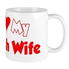 I Love My Polish Wife Shirt Mug