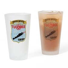 tullibee patch transparent Drinking Glass