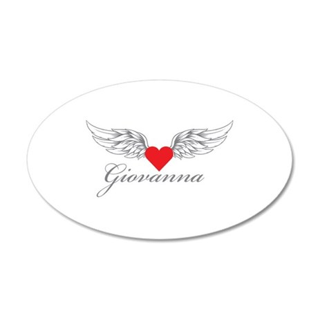 Angel Wings Giovanna Wall Decal