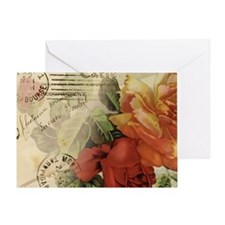 cafemousepadroses Greeting Card