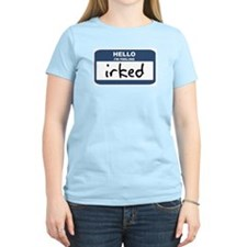 Feeling irked Women's Pink T-Shirt