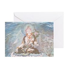 white tara. Greeting Card