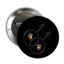 "Bear Man 4 Bear Man 2.25"" Button (100 pack)"