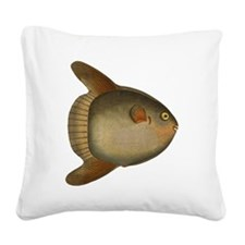 Mola Mola Giant Sunfish Square Canvas Pillow