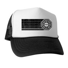 dharma-initiative-retro-vintage Trucker Hat