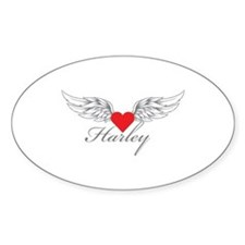 Angel Wings Harley Decal