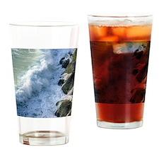 Waves Crashing Drinking Glass
