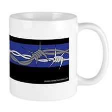 Corrections Thin Blue Line Mug